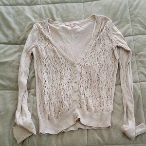 Victoria's secret button up blouse